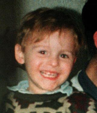 DREPT: James Bulger ble drept i 1993, bare to år gammel.