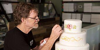 image: Jack nektet å lage kake til homobryllup. Nå har saken endt opp i høyesterett