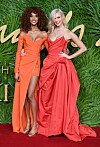 THE FASHION AWARDS: Jourdan Dunn og Karlie Kloss. Foto: Scanpix  Foto: undefined