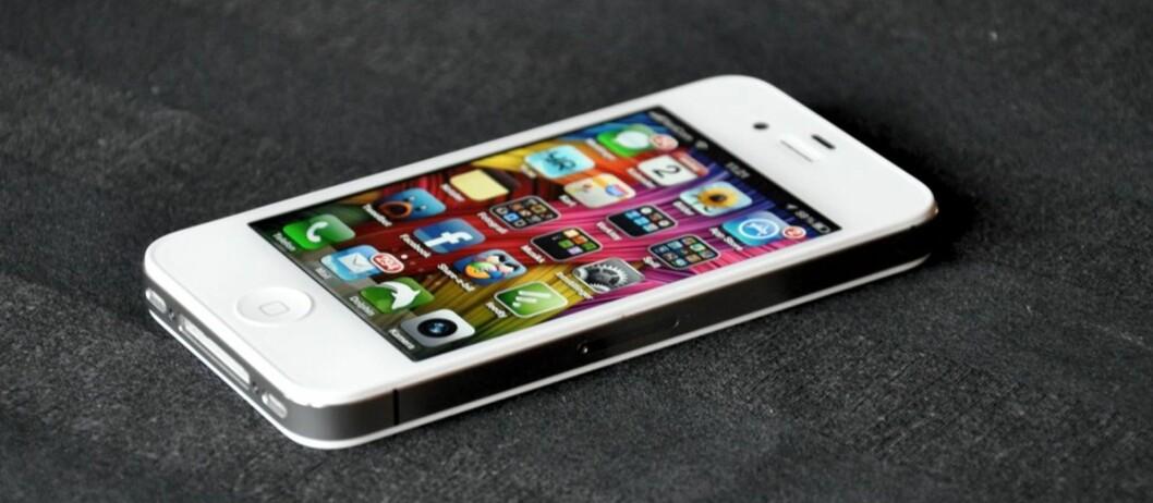 iPhone 4s er ikke dramatisk mye bedre enn iPhone 4, men uansett en av de beste telefonene i dagens marked. Foto: PÅL JOAKIM OLSEN