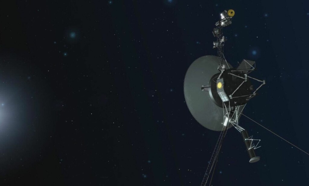 VOYAGER 1: Romsonden fra 1977 har hatt tekniske problemer. Nå har NASA klart å fikse problemene, på tross av at sonden befinner seg utenfor solsystemet vårt. Foto: NASA/JPL-Caltech