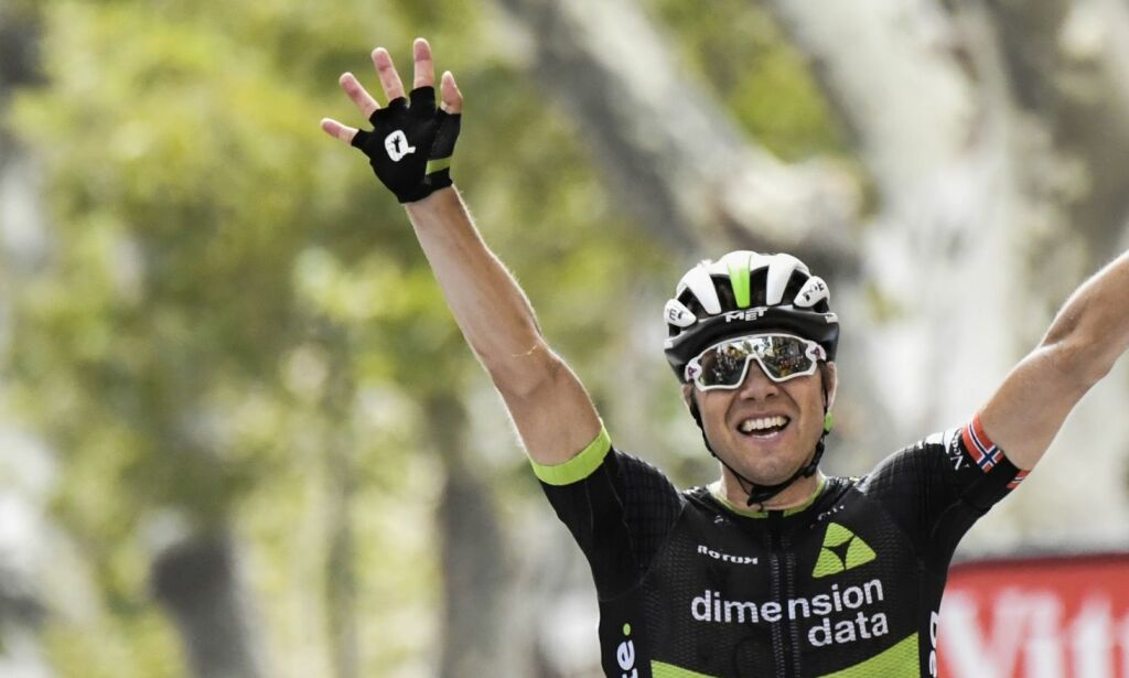 image: Boasson Hagen var lei av fotofinish - ingen skulle hindre han en etappeseier i årets Tour