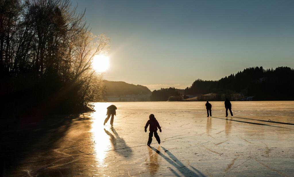 KULDESJOKK: Neste uke kan gi de kaldeste temperaturene siden 1987, for årstiden.  Foto: Gorm Kallestad / NTB Scanpix