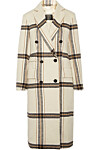 Kåpe fra By Malene Birger via Net-a-porter.com |6000,-| https://www.net-a-porter.com/no/en/product/988734/by_malene_birger/gritt-double-breasted-plaid-brushed-felt-coat