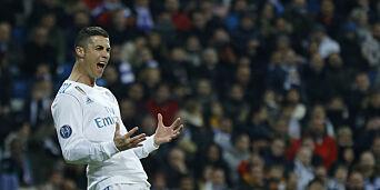 image: Ronaldo vant Ballon d'Or for femte gang