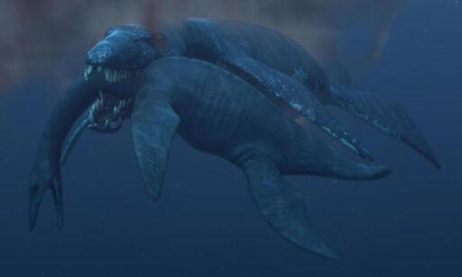 image: Spiste hvithai til frokost og får Tyrannosaurus Rex til å fremstå som en pingle