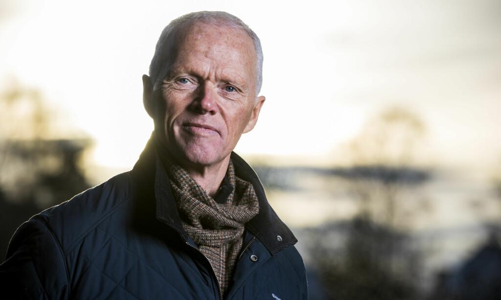 SKREMT: Røde Kors-president og tidligere forsvarstopp, Robert Mood, skyter i alle retninger. Foto: Håkon Mosvold Larsen / NTB scanpix