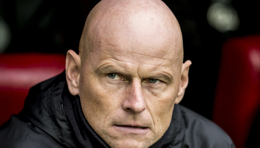 <strong>UNDER PRESS:</strong> Det er vinn eller forsvinn for Ståle Solbakken og FC København i Europaligaen torsdag. Foto: Mads Claus Rasmussen / Scanpix Denmark / NTB scanpix