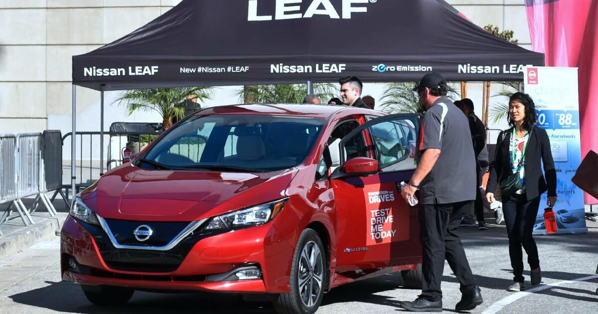 0db2b87d Hyggelig pris på nye Nissan Leaf - Nissan Leaf mye billigere enn  konkurrentene - DinSide