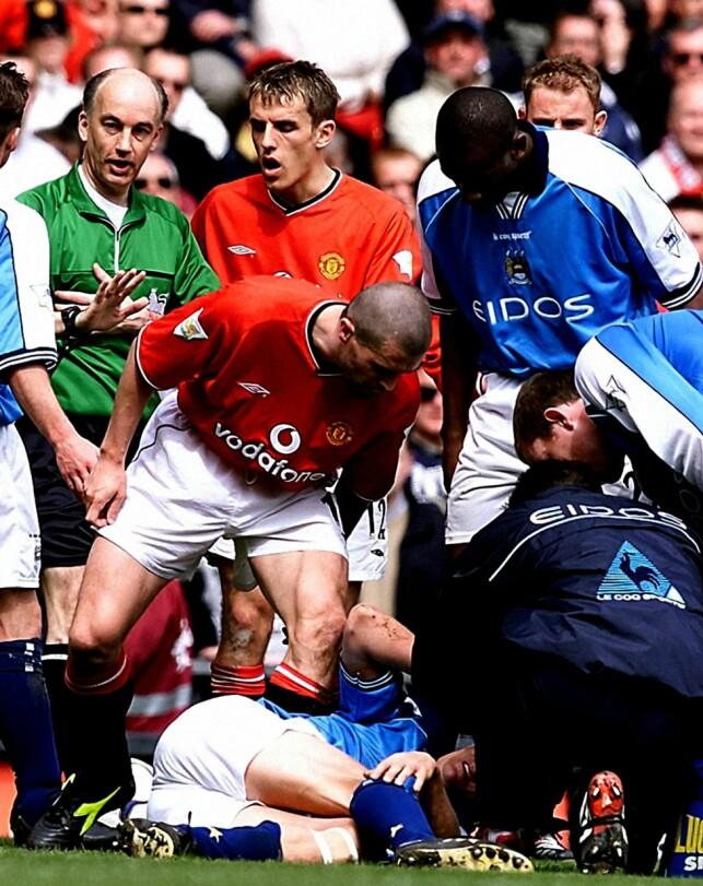 TOK HEVN: Roy Keane. Foto: NTB Scanpix