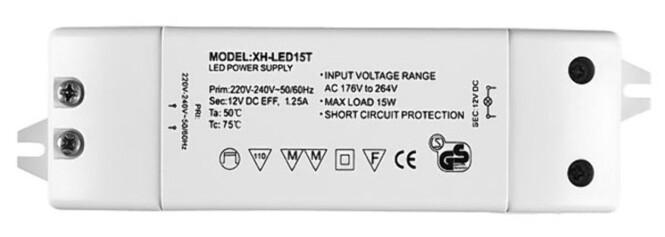 <strong>TILPASSET:</strong> Transformatorer som er beregnet for halogenlamper fungerer ikke alltid med LED. Foto: Brynjulf Blix