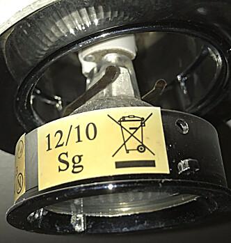 <strong>PIGGER:</strong> GU4 og GU5.3 festes i kontakt som henger i ledningen. Foto: Tore Neset