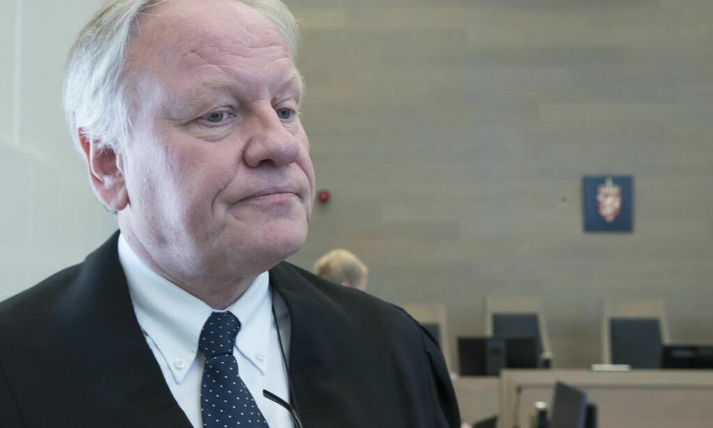 INNKLAGET: Advokat Sigurd Klomsæt er innklaget til Disiplinærnemnden for advokater av to klienter. Klomsæt ønsker saken avvist eller at han blir frifunnet. Foto: Terje Pedersen / NTB scanpix