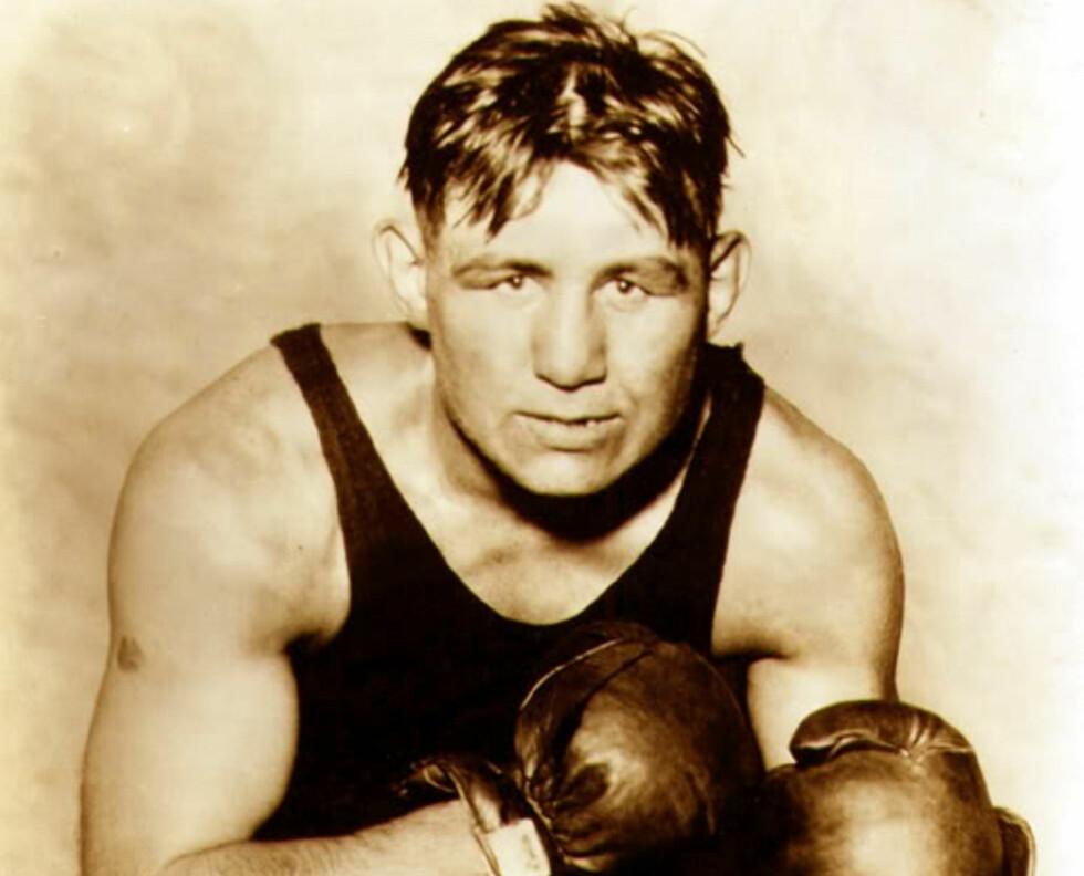 BOKSEHELT OG FAMILIEFAR: Billy Miske elsket to ting i sitt korte liv. Familien og boksingen. Her er historien om hans siste kamp. Foto: Scanpix