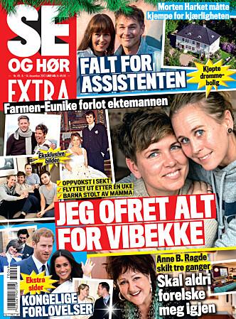 I SALG NÅ: I nyeste nummer av Se og Hør Extra kan du lese mer om Henriette og datteren. Faksimile: Se og Hør