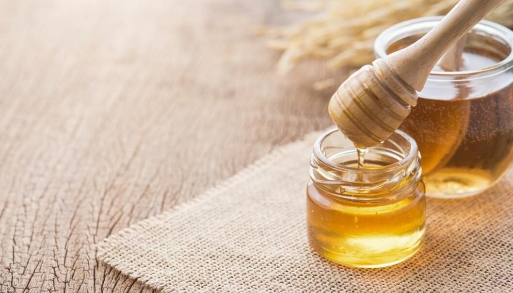 VARIERER: Fargen og tykkelsen på honning avhenger av hva slags nektar den er hentet fra. FOTO: NTB Scanpix
