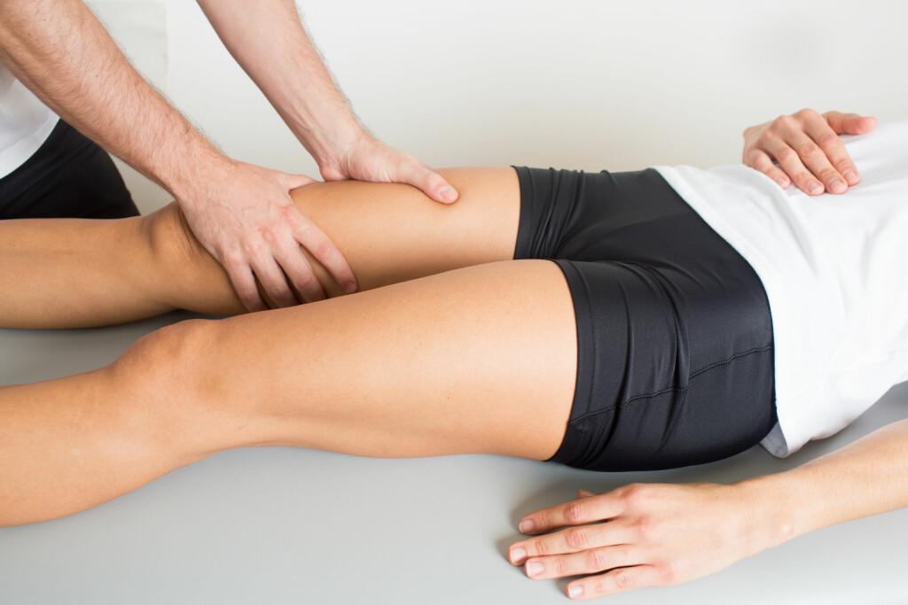 STREKKSKADER: Den hyppigste årsaken til lyskesmerter hos aktive kvinner og menn skyldes mindre strekkskader i forbindelse med idrett og annen aktivitet. Foto: Shutterstock