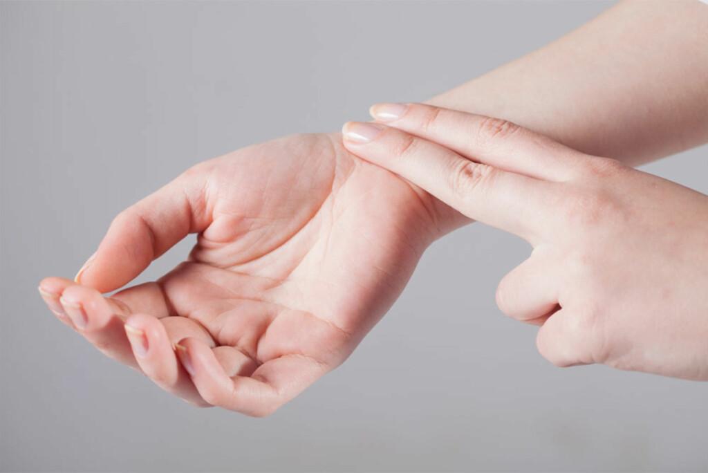 LAV PULS: Trenger ikke bety at det er noe galt. God trente personer har lav hvilepuls. Foto: NTB Scanpix