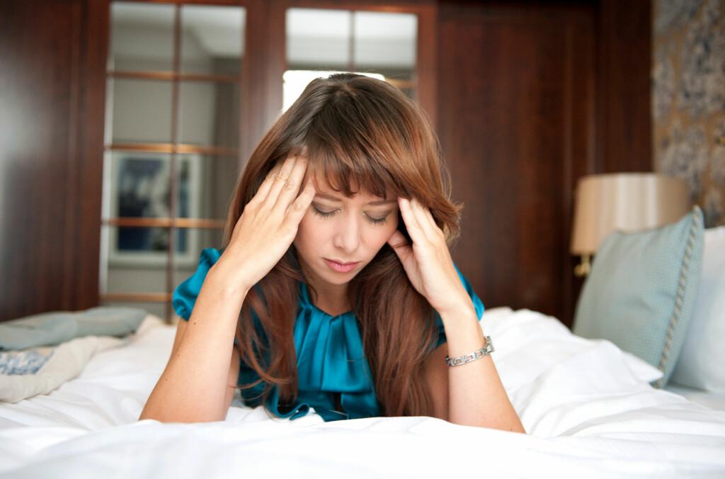 TRØTT: Det er normalt å føle seg trøtt og sliten.  Foto: NTB Scanpix