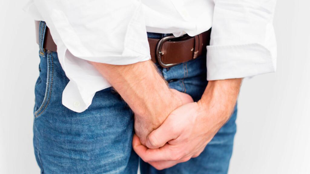 URINLEKKASJE? Urininkontinens er et problem som også rammer menn. Foto: NTB Scanpix/Shutterstock