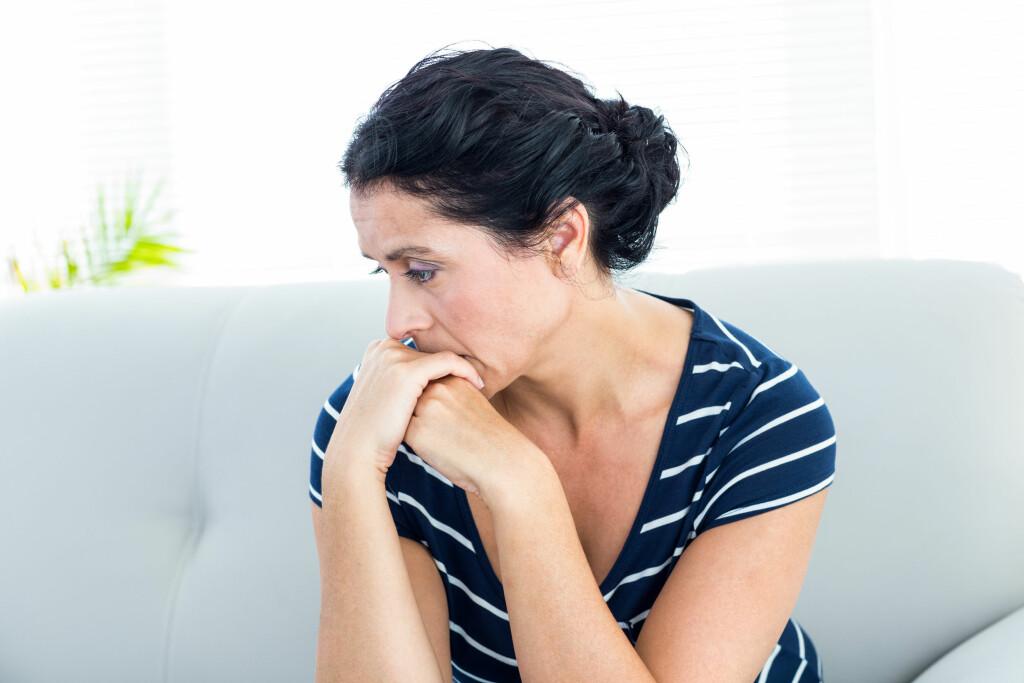 SOSIAL ANGST: At du gruer deg på frohånd kan være det mest plagsomme. For eksempel hvis man vet at man skal i en konfirmasjon om ett år, kan man da gå å grue seg til dette hele året. Foto: NTB Scanpix
