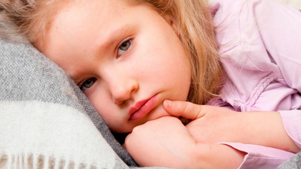OMGANGSSYKE: De fleste barn gjennomgår omgangssyke med diaré og oppkast en eller flere ganger. Foto: NTB Scanpix/Shutterstock