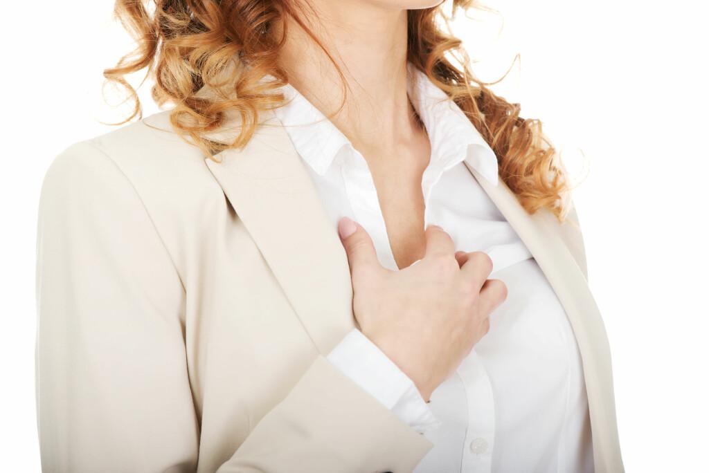 Uregelmessige hjerteslag: Hjerterytmeforstyrrelser er ofte ufarlig. Foto: NTB Scanpix