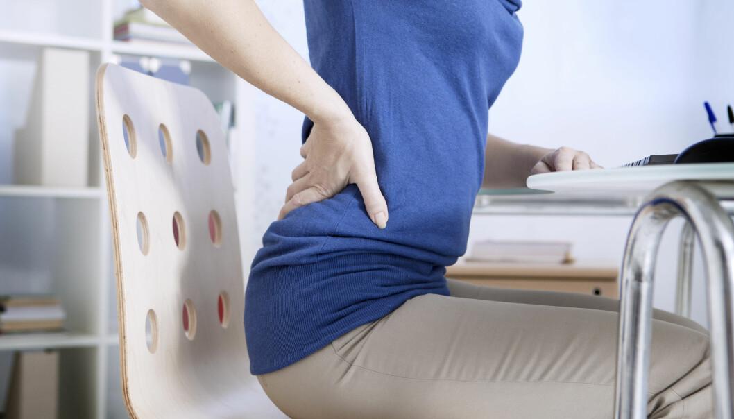 Slik kan du bli kvitt ryggsmertene