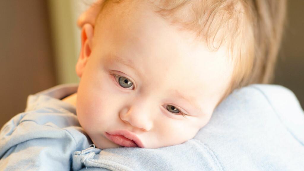 FEBER, OPPKAST, DIARÈ: Rotavirus har vært en hyppig årsak hos de minste barna. Men nå tilbys en vaksine mot dette. Foto: NTB Scanpix/Shutterstock