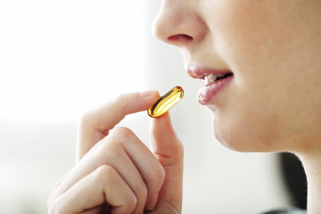 OMEGA 3: Selv om huden kan lage vitamin D når solen skinner, trenger barn – og mange voksne – ekstra tilskudd av dette vitaminet. Det kan fås ved å ta vitamin D-dråper eller tran Foto: Scanpix