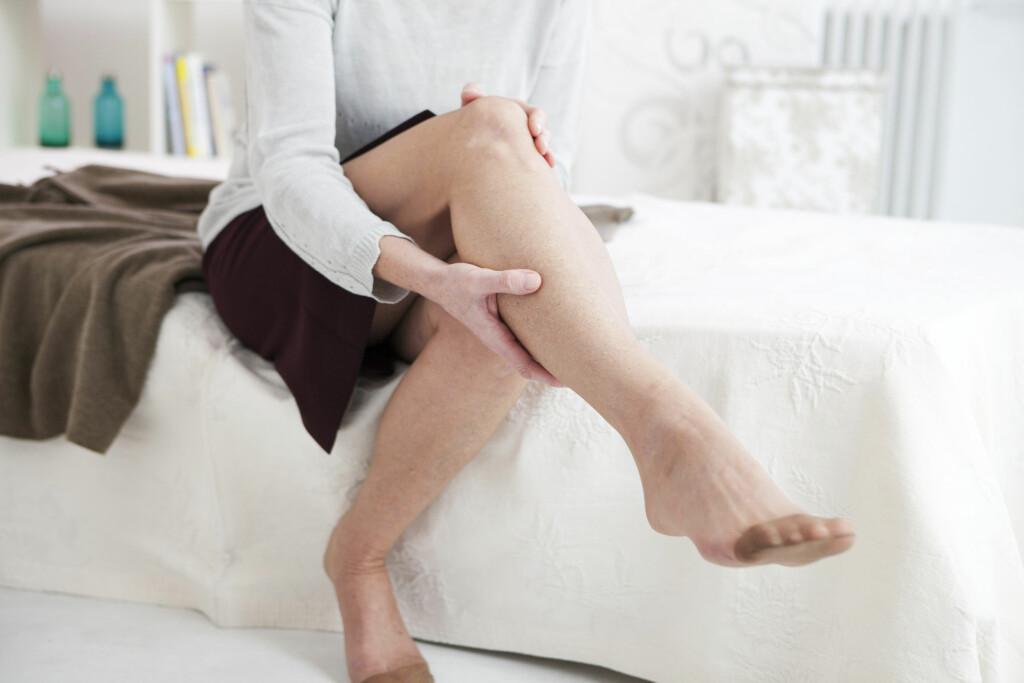 KRAMPER: Kramper kan være så mye, men nesten alle typer kramper i beina er helt ufarlig.  Foto: NTB Scanpix