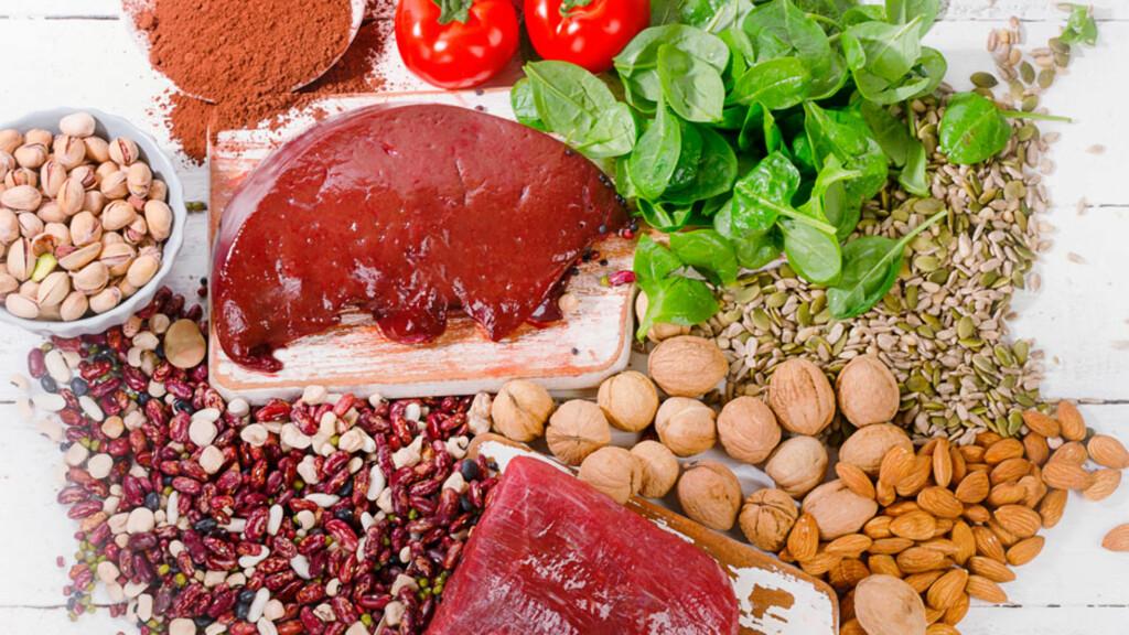 VITAMIN B: De ulike B-vitaminene har ulike funksjoner og finnes i forskjellige matvarer. Foto: NTB Scanpix/Shutterstock