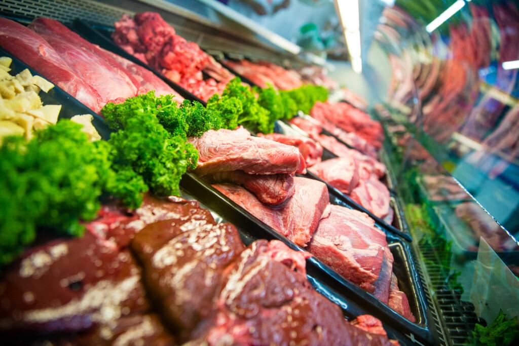 VITAMIN B12: Rødt kjøtt er en god kilde til vitamin B12.  Foto: ESB Professional / Shutterstock / NTB scanpix