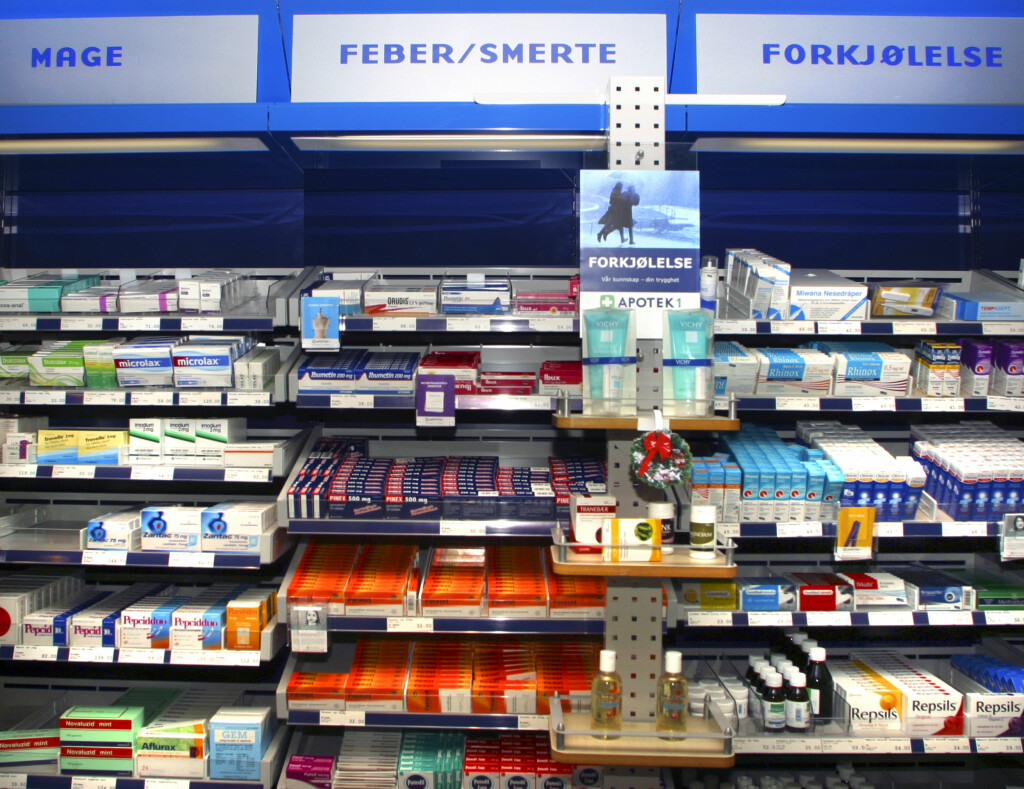 STORE FORSKJELLER: Reseptfrie legemeidler. Foto: NTB Scanpix