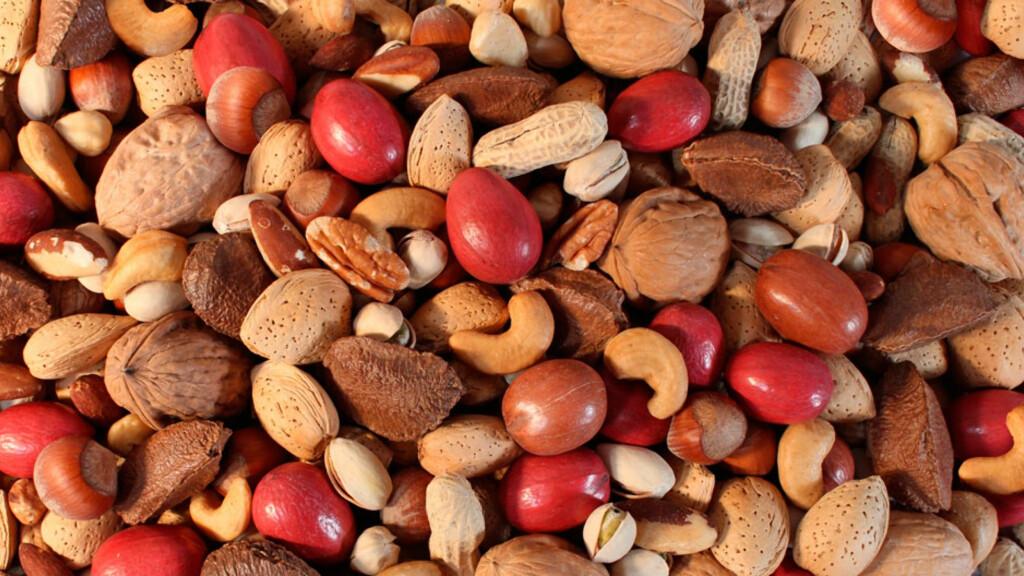 NØTTEALLERGI: Allergi mot nøtter er også en av matvareallergiene som gjerne varer livet ut, og dessverre ikke noe barn vokser av seg. Foto: NTB Scanpix/Shutterstock