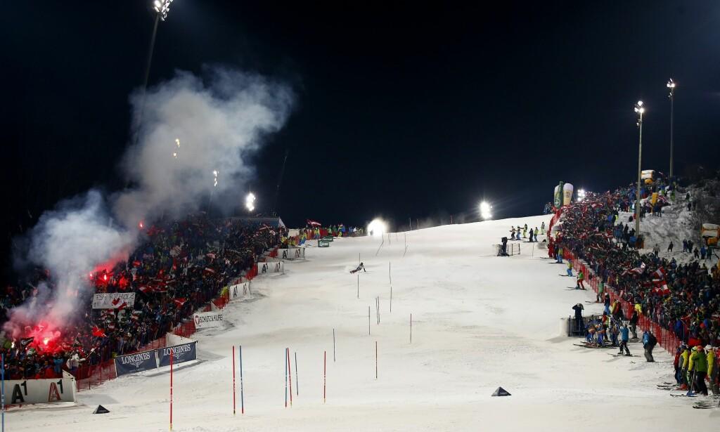 ALPINT: Få ting gjør det østerrikske folket stoltere enn deres alpinstjerner. Nå rulles det opp en stor skandale innenfor idretten, hvor flere utøvere står frem med historer om vold, voldtekt og trakassering. Foto: AP Photo/Giovanni Auletta