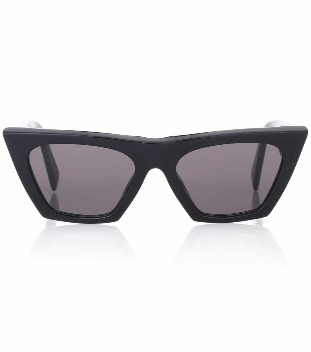 Solbriller fra Celine via Mytheresa.com |3000,-| https://www.mytheresa.com/en-de/celine-eyewear-edge-cat-eye-sunglasses-894611.html?catref=category