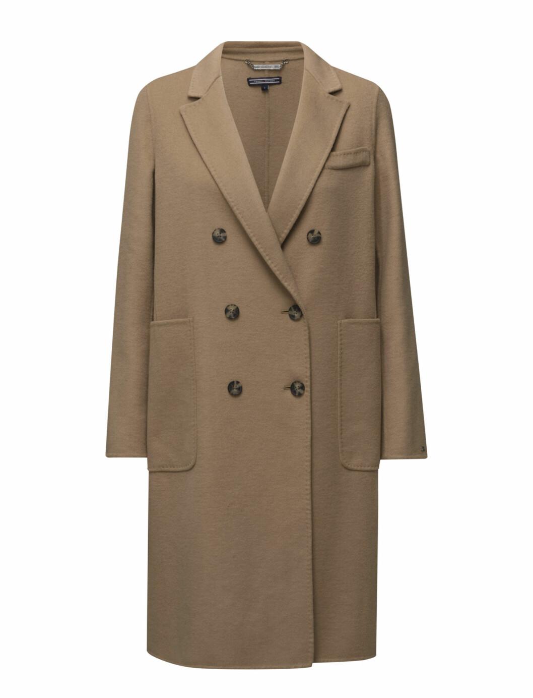Kåpe fra Tommy Hilfiger via Boozt.com |4000,-| https://www.boozt.com/no/no/tommy-hilfiger/carmen-db-wool-coat_15707085/15707093?navId=67743&group=listing&position=1500000