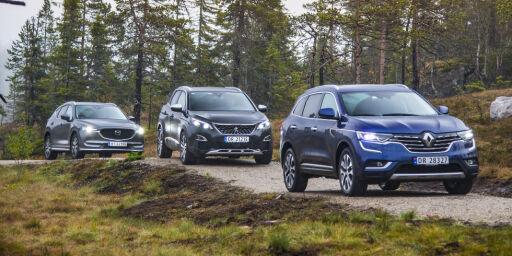 image: Norgesfavoritten CX-5 er blitt ny. Vi har testet den mot to andre familie-SUVer