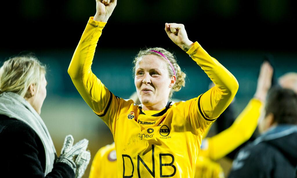 TIL VÅLERENGA: Isabell Herlovsen flytter hjem til Norge etter et utenlandsopphold i Kina. Foto: Vegard Wivestad Grøtt / NTB scanpix