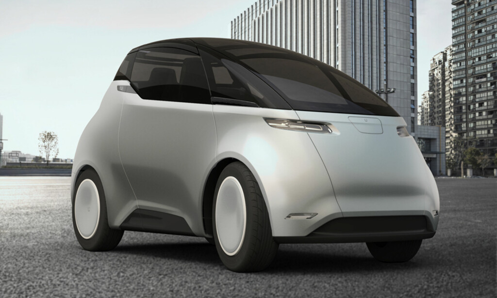 MOBIL SMARTMOBIL: Svenske Uniti presenteres av sine visjonære skapere som bilverdenens svar på smarttelefonen, som skal gi individuell mobilitet med mye lavere CO2-avtrykk enn selv eksisterende elbiler kan, i tillegg til å være utslippsfri lokalt. Foto: Uniti Sweden AB.