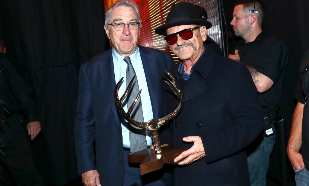 I 2016: Joe Pesci og Robert De Niro (t.v.) sammen på Spike TV's Guys Choice 2016 i Culver City, California i juni. Foto: Mark Davis / Getty Images for Spike TV / AFP / NTB Scanpix