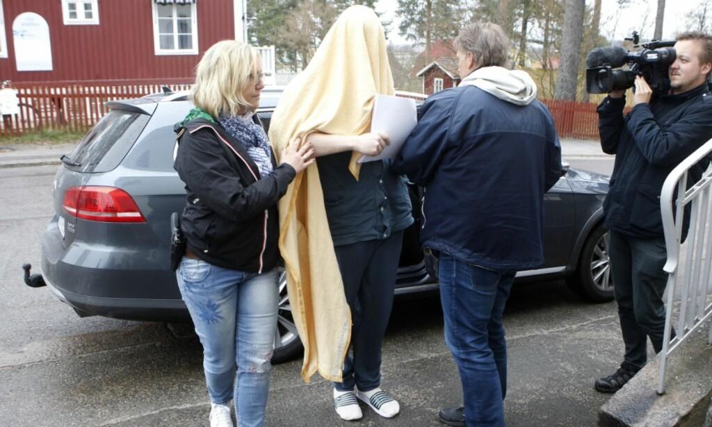 Tiltalt: Den 22 år gamle mannen som er tiltalt for drapet på Tova Moberg anklages for å ha kontrollert hvem hun fikk lov til å ha kontakt med. Foto: Mats Andersson / TT/ NTB Scpanpix