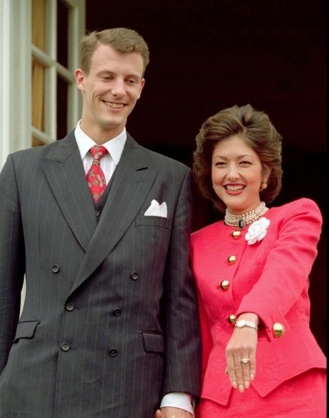 SKILTE LAG: Eventyrromansen mellom Alexandra og Joachim tok brått slutt i 2005. Nå har grevinnen valgt å si fra seg apanasjen. Foto: NTB scanpix