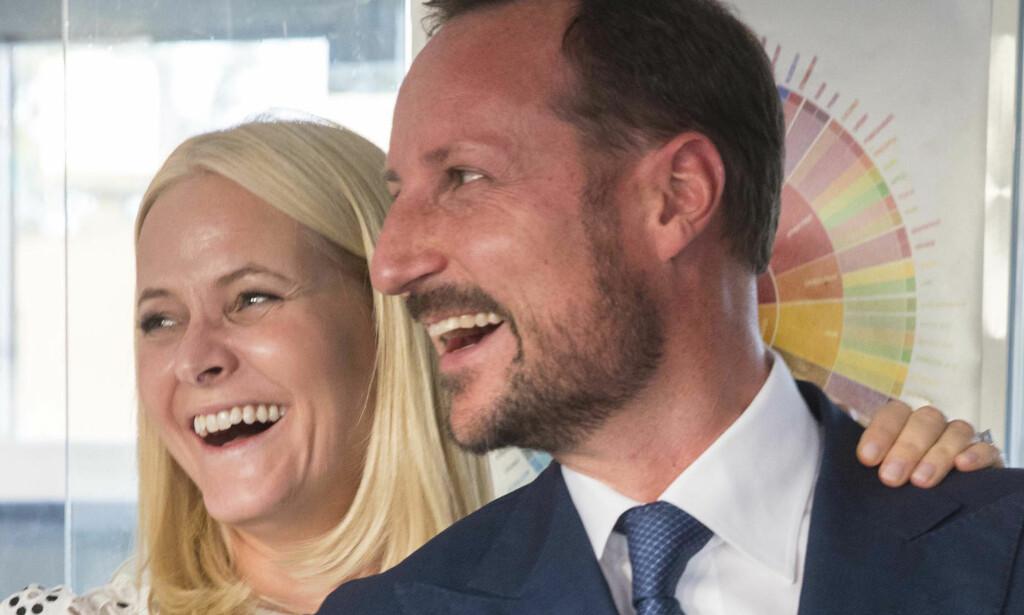 LEDSAGET AV KRONPRINSPARET: Kronprinsesse Mette-Marit og kronprins Haakon skal ledsage de britiske gjestene når de kommer til Norge. Foto: Vidar Ruud / NTB scanpix