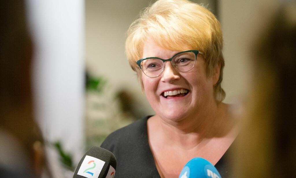 Norges nye kulturminister heter Trine Skei Grande.