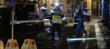 Tre personer pågrepet etter angrep mot synagoge i Sverige