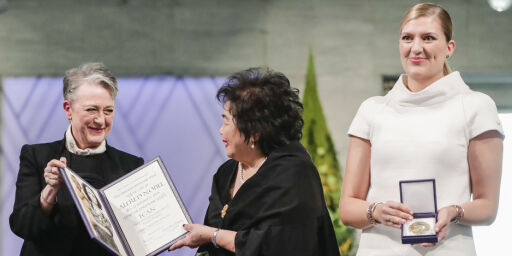 image: Nå mottar ICAN Nobels fredspris