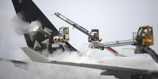 image: Snøvær skaper kaos i flytrafikken i Europa