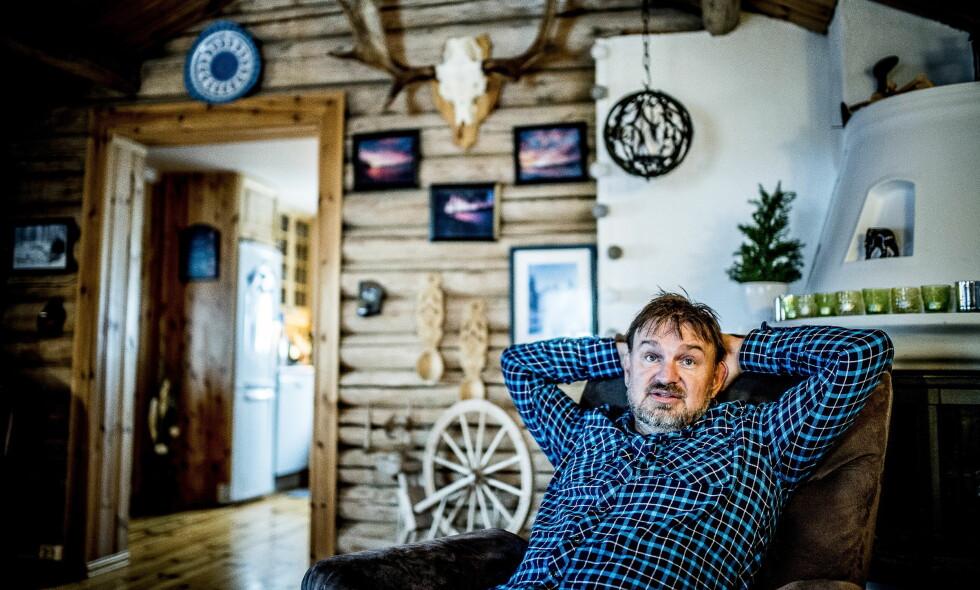 DRØMMEDAMA: Halvor Sveen beskriver ei drømmedame som snill, trygg og rå - og nettopp ei slik dame har han nå funnet. Foto: Thomas Rasmus Skaug / Dagbladet